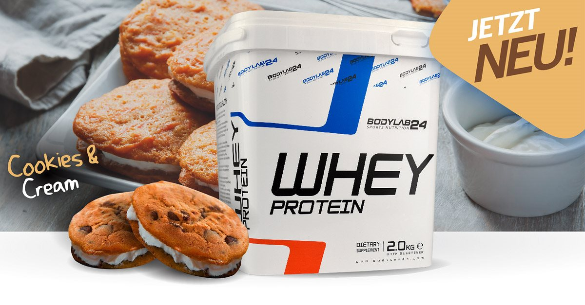 Whey Protein, Cookies Cream