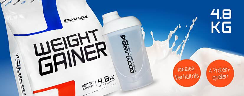 Weight Gainer, gainer, Bodylab24,