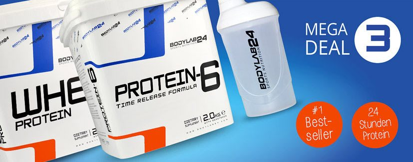 megadeal 3 , bodylab24, whey protein