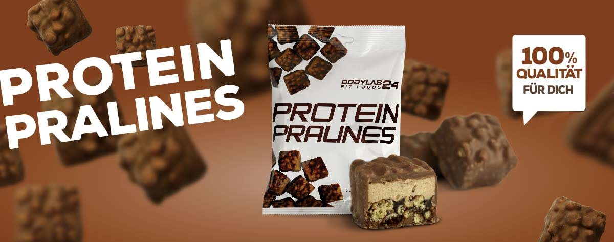 Protein Pralines, Bodylab24 FitFoods