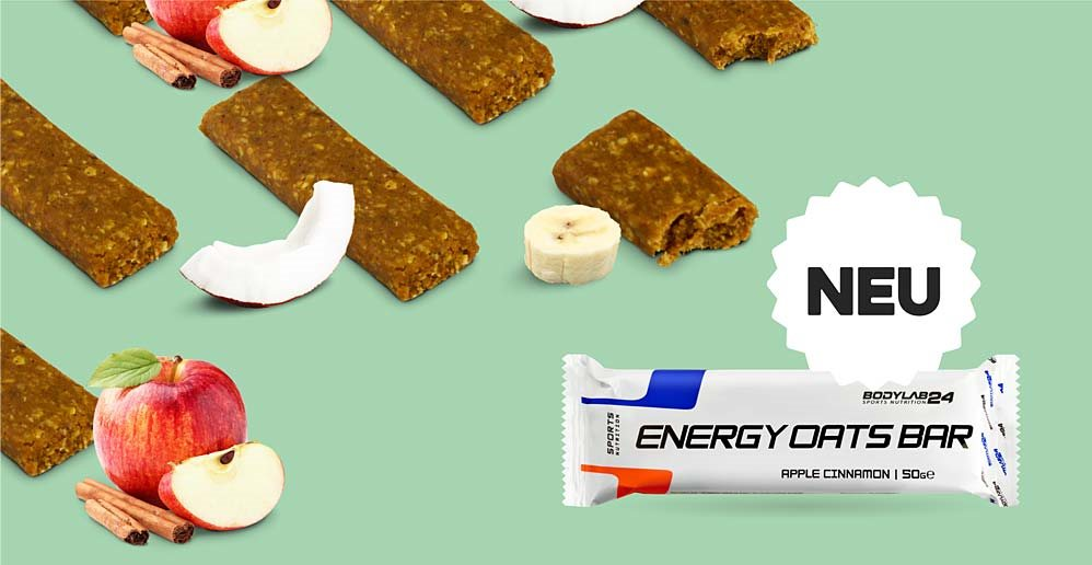Energy Oats Bar, Bodylab24, Energieriegel